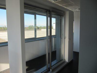 porta-finestra in alluminio classico Te.ser