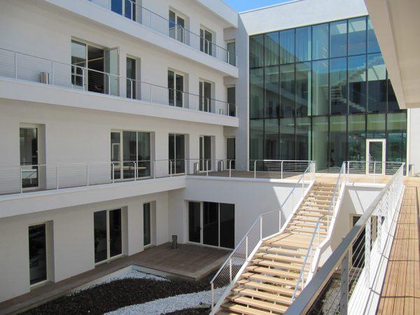 porte e finestre per edificio aziendale te.ser