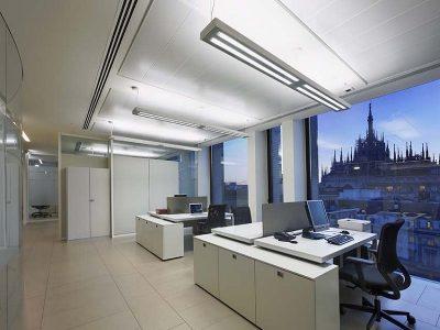 pareti vetrate per uffici in alluminio